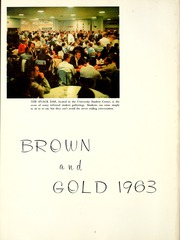 Page 6, 1963 Edition, Western Michigan University - Brown and Gold Yearbook (Kalamazoo, MI) online yearbook collection