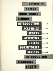 Page 7, 1963 Edition, Western Michigan University - Brown and Gold Yearbook (Kalamazoo, MI) online yearbook collection