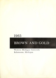 Page 5, 1966 Edition, Western Michigan University - Brown and Gold Yearbook (Kalamazoo, MI) online yearbook collection