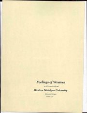 Page 9, 1971 Edition, Western Michigan University - Brown and Gold Yearbook (Kalamazoo, MI) online yearbook collection