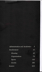 Page 5, 1974 Edition, Western Michigan University - Brown and Gold Yearbook (Kalamazoo, MI) online yearbook collection