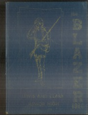 1966 Edition, Lewis and Clark Junior High School - Blazer Yearbook (Tulsa, OK)