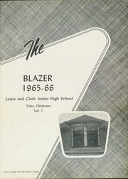 Page 3, 1966 Edition, Lewis and Clark Junior High School - Blazer Yearbook (Tulsa, OK) online yearbook collection