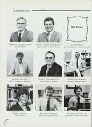 Page 12, 1985 Edition, Oklahoma College of Osteopathic Medicine and Surgery - Pinnacle Yearbook (Tulsa, OK) online yearbook collection