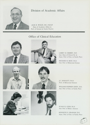 Page 13, 1985 Edition, Oklahoma College of Osteopathic Medicine and Surgery - Pinnacle Yearbook (Tulsa, OK) online yearbook collection