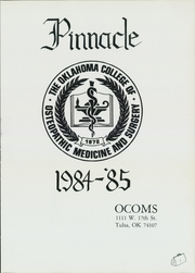 Page 5, 1985 Edition, Oklahoma College of Osteopathic Medicine and Surgery - Pinnacle Yearbook (Tulsa, OK) online yearbook collection