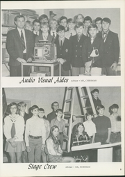 Page 11, 1971 Edition, Richard Byrd Junior High School - Explorer Yearbook (Tulsa, OK) online yearbook collection