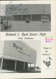 Page 5, 1971 Edition, Richard Byrd Junior High School - Explorer Yearbook (Tulsa, OK) online yearbook collection