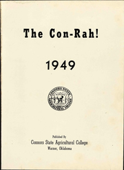 Page 9, 1949 Edition, Connors State College - Con Rah Yearbook (Warner, OK) online yearbook collection