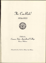 Page 7, 1955 Edition, Connors State College - Con Rah Yearbook (Warner, OK) online yearbook collection