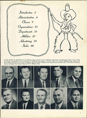 Page 7, 1961 Edition, Connors State College - Con Rah Yearbook (Warner, OK) online yearbook collection