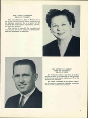 Page 9, 1961 Edition, Connors State College - Con Rah Yearbook (Warner, OK) online yearbook collection