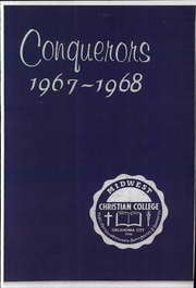 1968 Edition, Midwest Christian College - Conquerors Yearbook (Oklahoma City, OK)