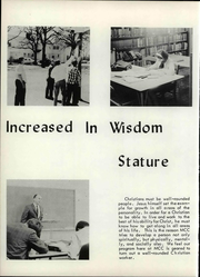 Page 12, 1968 Edition, Midwest Christian College - Conquerors Yearbook (Oklahoma City, OK) online yearbook collection