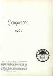 Page 7, 1968 Edition, Midwest Christian College - Conquerors Yearbook (Oklahoma City, OK) online yearbook collection