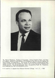 Page 9, 1968 Edition, Midwest Christian College - Conquerors Yearbook (Oklahoma City, OK) online yearbook collection
