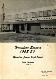 Page 1, 1959 Edition, Hamilton Middle School - Statesman Yearbook (Tulsa, OK) online yearbook collection