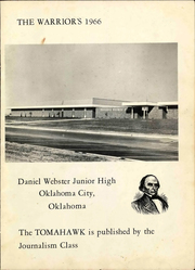 Page 3, 1966 Edition, Daniel Webster Junior High School - Tomahawk Yearbook (Oklahoma City, OK) online yearbook collection