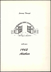 Page 7, 1962 Edition, Central Pilgrim College - Alethea Yearbook (Bartlesville, OK) online yearbook collection