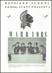 Page 5, 1960 Edition, Woodland High School - Warrior Yearbook (Davis, OK) online yearbook collection
