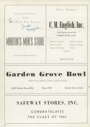 Page 5, 1951 Edition, Garden Grove High School - Argonaut Yearbook (Garden Grove, CA) online yearbook collection