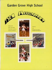 Page 3, 1981 Edition, Garden Grove High School - Argonaut Yearbook (Garden Grove, CA) online yearbook collection