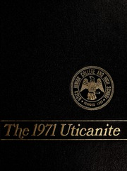 Page 1, 1971 Edition, Utica Junior College - Uticanite Yearbook (Utica, MS) online yearbook collection