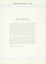 Page 11, 1937 Edition, John Marshall Law School - Abstract Yearbook (Chicago, IL) online yearbook collection