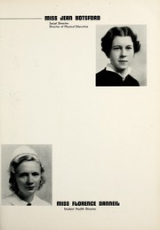 Page 15, 1937 Edition, Henry Ford Hospital School of Nursing - Sonah Yearbook (Detroit, MI) online yearbook collection