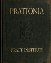 1924 Edition, Pratt Institute - Prattonia Yearbook (Brooklyn, NY)