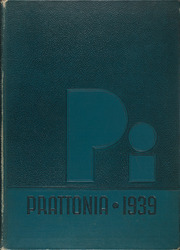 Page 1, 1939 Edition, Pratt Institute - Prattonia Yearbook (Brooklyn, NY) online yearbook collection