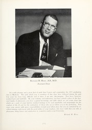Page 9, 1954 Edition, University of Pittsburgh School of Medicine - Hippocratean Yearbook (Pittsburgh, PA) online yearbook collection