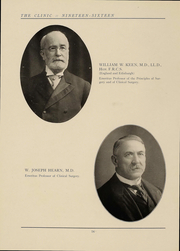 Page 15, 1916 Edition, Jefferson Medical College - Clinic Yearbook (Philadelphia, PA) online yearbook collection