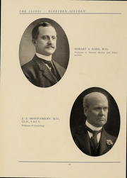 Page 17, 1916 Edition, Jefferson Medical College - Clinic Yearbook (Philadelphia, PA) online yearbook collection