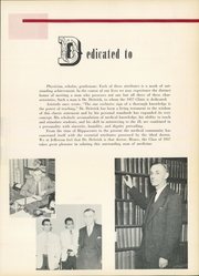 Page 9, 1957 Edition, Jefferson Medical College - Clinic Yearbook (Philadelphia, PA) online yearbook collection