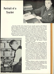 Page 17, 1961 Edition, Jefferson Medical College - Clinic Yearbook (Philadelphia, PA) online yearbook collection