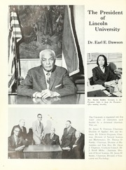 Page 12, 1968 Edition, Lincoln University of Missouri - Archives Yearbook (Jefferson City, MO) online yearbook collection