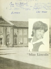 Page 3, 1968 Edition, Lincoln University of Missouri - Archives Yearbook (Jefferson City, MO) online yearbook collection