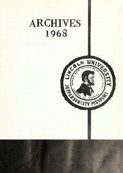Page 5, 1968 Edition, Lincoln University of Missouri - Archives Yearbook (Jefferson City, MO) online yearbook collection