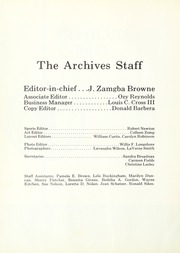 Page 6, 1968 Edition, Lincoln University of Missouri - Archives Yearbook (Jefferson City, MO) online yearbook collection