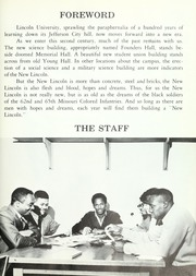 Page 7, 1968 Edition, Lincoln University of Missouri - Archives Yearbook (Jefferson City, MO) online yearbook collection