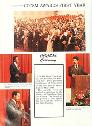 Page 14, 1987 Edition, Crenshaw Christian Center School of Ministry - Yearbook (Los Angeles, CA) online yearbook collection