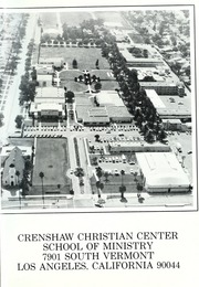 Page 5, 1987 Edition, Crenshaw Christian Center School of Ministry - Yearbook (Los Angeles, CA) online yearbook collection