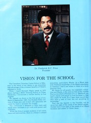 Page 6, 1987 Edition, Crenshaw Christian Center School of Ministry - Yearbook (Los Angeles, CA) online yearbook collection