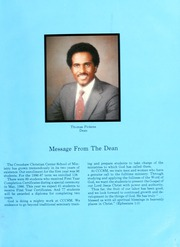 Page 7, 1987 Edition, Crenshaw Christian Center School of Ministry - Yearbook (Los Angeles, CA) online yearbook collection