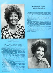 Page 8, 1987 Edition, Crenshaw Christian Center School of Ministry - Yearbook (Los Angeles, CA) online yearbook collection