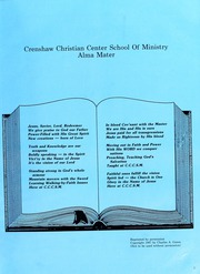 Page 9, 1987 Edition, Crenshaw Christian Center School of Ministry - Yearbook (Los Angeles, CA) online yearbook collection