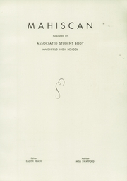 Page 5, 1938 Edition, Marshfield High School - Mahiscan Yearbook (Coos Bay, OR) online yearbook collection