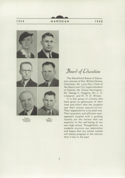 Page 9, 1938 Edition, Marshfield High School - Mahiscan Yearbook (Coos Bay, OR) online yearbook collection