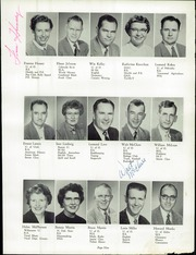 Page 13, 1956 Edition, Marshfield High School - Mahiscan Yearbook (Coos Bay, OR) online yearbook collection